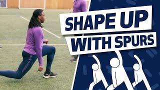 INTERVAL SESSION TUTORIAL | SHAPE UP WITH SPURS