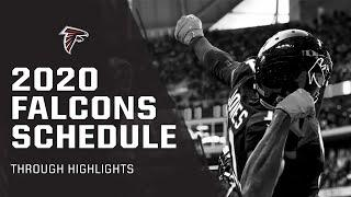 HIGHLIGHTS   2020 Atlanta Falcons SCHEDULE REVEALED