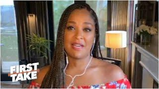 Laila Ali on Colin Kaepernick & the role athletes can play in fight for social justice | First Take