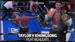 Full fight: Josh Taylor v Apinun Khongsong