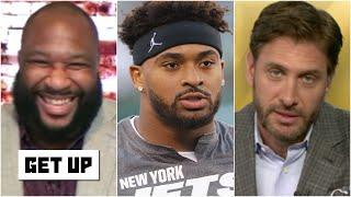 Reacting to Jets safety Jamal Adams trying to get traded to the Cowboys | Get Up