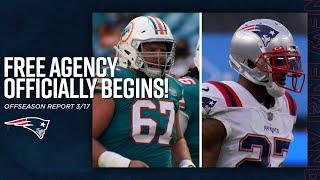 How the Patriots Fared in Day One of NFL Free Agency   New England Patriots