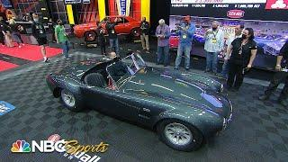 Carroll Shelby's 1965 Shelby 427 Cobra Roadster sells for a WHOPPING $5.4M | Motorsports on NBC