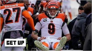 Evaluating the Bengals' protection of Joe Burrow after his torn ACL & MCL | Get Up
