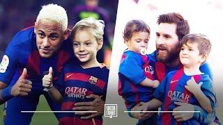 Messi and Neymar: amazing friends, perfect dads | Oh My Goal