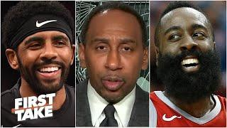 Stephen A. reacts to reports of James Harden to the Nets: KD + Kyrie + Harden = BUCKETS | First Take