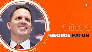 George Paton discusses Broncos' plans for Simmons, Miller, Lock and more