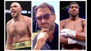 'HE MIGHT HAVE BEEN ON A WIND-UP' -EDDIE HEARN REVEALS HIM & AJ GOT MISSED FACETIMES CALLS FROM FURY