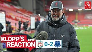 Klopp's Reaction: 'It's tough, but we have to take it' | Liverpool vs Everton