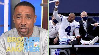 Rodney Harrison reacts to Dak Prescott injury, Alex Smith return | Brother from Another | NBC Sports
