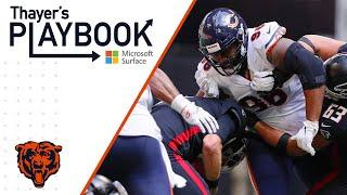 Akiem Hicks blows up Falcons backfield | Thayer's Playbook | Chicago Bears