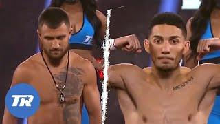 Loma vs Lopez: Weigh-In