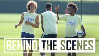 IF YOU LOSE YOU DO PUSH-UPS!   Behind the scenes at Arsenal training centre
