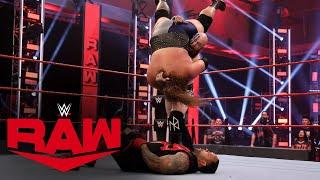 The Viking Raiders vs. Bobby Lashley & MVP: Raw, June 8, 2020