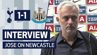 INTERVIEW | Jose Mourinho on Newcastle Draw