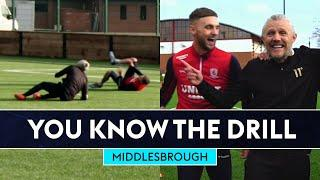 Jimmy Bullard's tackle SNAPS Lewis Wing  | Middlesbrough | You Know The FIFA Drill