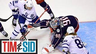 Kyle Dubas Talks Draft And How Maple Leafs Will Approach Free Agency | Tim and Sid