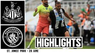 Newcastle United 0 Manchester City 2   FA Cup Highlights
