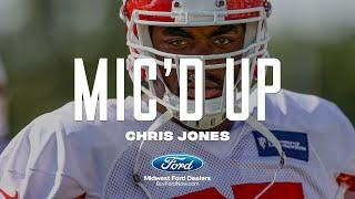 """Chris Jones Mic'd Up during Chiefs Training Camp: """"Can I have a double squeezie?"""""""