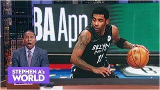 Stephen A.: I would pay my own money to watch Kyrie play basketball! | Stephen A's World