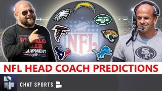 NFL Head Coach Predictions: Who Will Chargers, Jaguars, Texans, Jets, Falcons, Lions & Eagles Hire?