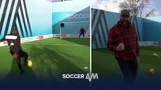 Tom Davis & Yannick Bolasie play to win money for charity! | Soccer Am Pro Am