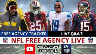 NFL Free Agency LIVE, Top Free Agents Left, Latest NFL News, Rumors, Signings & Free Agency Tracker