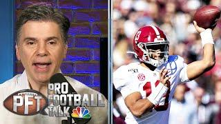 Dolphins say Tua Tagovailoa workout video helped selection in draft | Pro Football Talk | NBC Sports