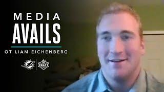 OT Liam Eichenberg Talks About Being Selected at No. 42   Press Conference