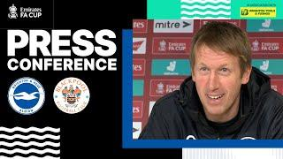 Graham Potter's Blackpool Press Conference