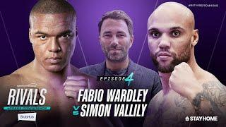 Fabio Wardley vs Simon Vallily ePress Conference | Rivals w/ Eddie Hearn