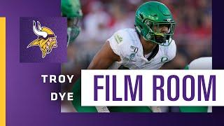 Film Room: Game Tape Shows LB Troy Dye's Instincts and Upside | Minnesota Vikings