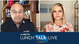 Kathryn Tappen discusses 'possibility' that NHL starts return in June | Lunch Talk Live | NBC Sports