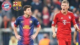 FC Bayern's legendary 7-0 over FC Barcelona | Highlights of the Champions League Semi Finals 2012/13