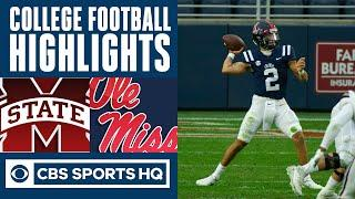 Mississippi State vs Ole Miss Highlights: Rebels jump out early| CBS Sports HQ