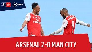 Arsenal vs Manchester City (2-0)   Emirates FA Cup highlights