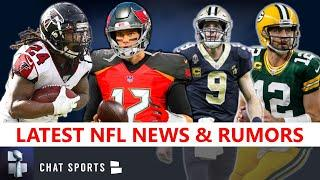NFL Rumors: Devonta Freeman Bucs? NFL News On Drew Brees, Tom Brady, Aaron Rodgers, Michael Thomas
