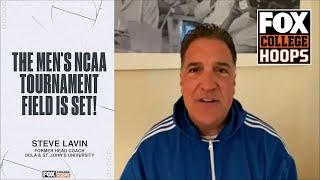 Former UCLA and St. John's head coach Steve Lavin reacts to the NCAA bracket | FOX COLLEGE HOOPS
