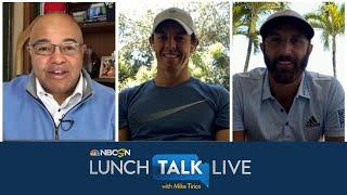 Rory McIlroy, Dustin Johnson preview charity golf game vs. Rickie Fowler, Matthew Wolff | NBC Sports