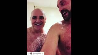 'IM A NOBDOY - JUST THE FATHER OF THE HEAVYWEIGHT KING OF THE WORLD' - JOHN FURY TELLS TYSON FURY