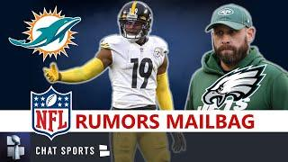 NFL Rumors:  JuJu Smith Schuster To Miami? Adam Gase To Eagles? Seahawks Fire OC? NFL Daily Mailbag