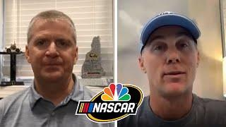 Kevin Harvick details Brickyard win, unity within NASCAR (FULL INTERVIEW) | Motorsports on NBC