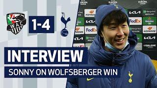 INTERVIEW   HEUNG-MIN SON ON GOAL AND WOLFSBERGER WIN