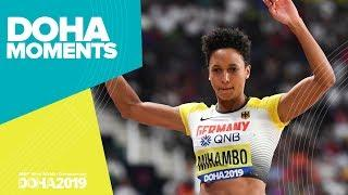 Mihambo Leaps to Long Jump Gold | World Athletics Championships 2019 | Doha Moments