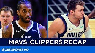 Mavericks vs Clippers Recap: Luka Doncic drops 46 but Clippers advance in Game 7 | CBS Sports HQ