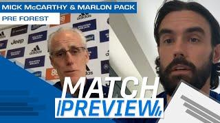 MATCH PREVIEW | CARDIFF CITY vs NOTTINGHAM FOREST | MICK McCARTHY & MARLON PACK