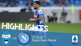 Highlights Serie A - Spal vs Napoli 1-1