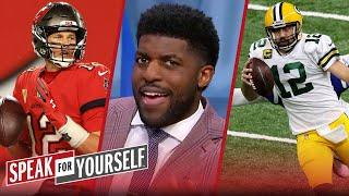 Rodgers is MVP in NFL & more valuable to Packers than Brady is to Bucs — Acho | SPEAK FOR YOURSELF