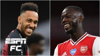 Could Arsenal's Pierre-Emerick Aubameyang AND Nicolas Pepe move to Napoli? | ESPN FC