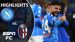 Lorenzo Insigne and Victor Osimhen lead Napoli past Bologna   ESPN FC Serie A Highlights